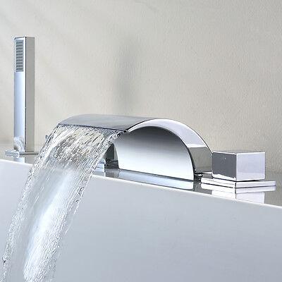 Badewanne Wasserhahn Wasserfall Wannenarmatur Duscharmatur Wanne Mischbatterie
