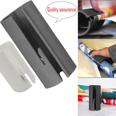 Little Elf Cutting Sliding Wrapping Paper Gift Roll Cutter Made Easy And Fun New