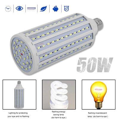 Super Bright Huge 50W 168-Chip Corn Light E26 6000K LED Bulb