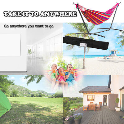 Hammock Stand With Space Saving Steel Stand Includes Carrying Case Red M32 Hammocks