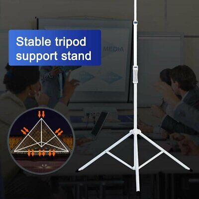 Projector Screen TV HD Large Movie Screen Theater Cinema Tripod Stand Consumer Electronics