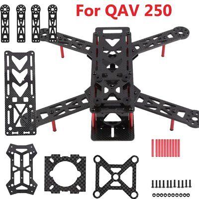 3K Carbon Fiber 4 Axis  QAV250 FPV Quadcopter Mini H Quad Drone Entrap Kits BE