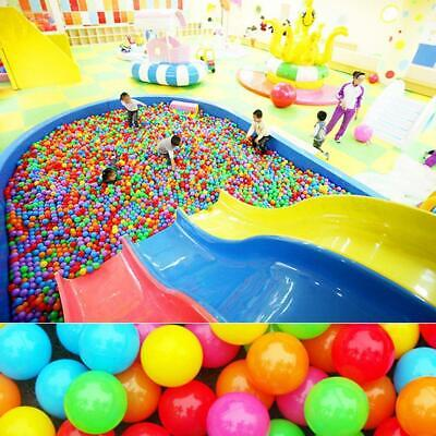 100pc Multicolor Toy Ball Swimming Pool Ball Non-toxic For Children Play Best