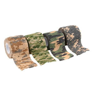 Elastic-Camouflage-Waterproof-Outdoor-Hunt-Camping-Stealth-Camo-Wrap-Tape-DG