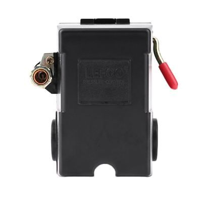 Lefoo Pressure Switch For Air Compressor 95-125 Psi Single Port Wunloader