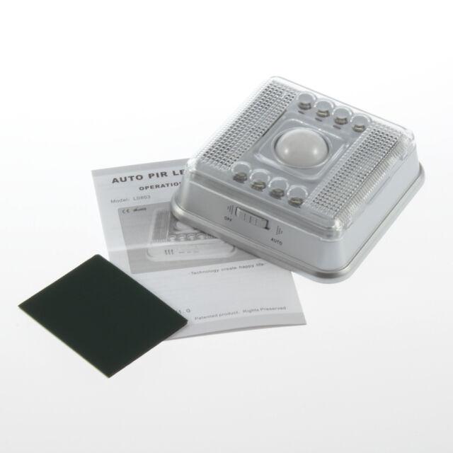 Wireless Infrared 8 LED Light Lamp PIR Auto Sensor Motion Detector YS