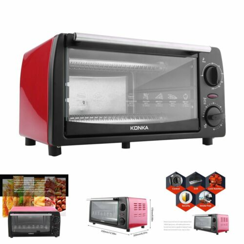 toaster oven 4 slice fits 9 pizza