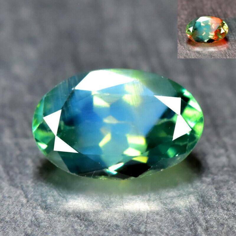 0.31CT FINE QUALITY GEMSTONE 100% NATURAL COLOR CHANGE ALEXANDRITE from SRILANKA