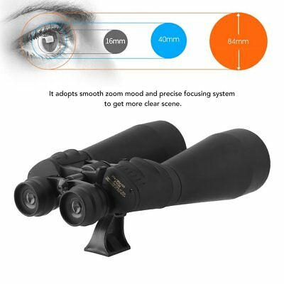 20-180X100 BINOCULARS PORTABLE OUTDOOR TELESCOPE DAY AND NIGHT VISION MEGA ZOOM