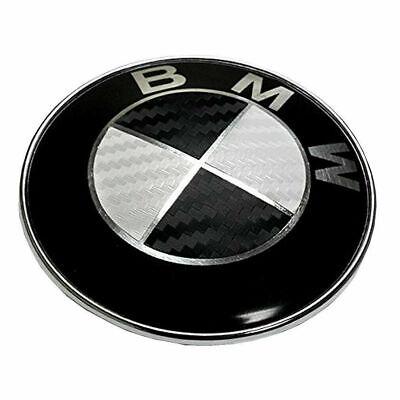 BMW 82mm Logo Motorhaube Heckklappe Kofferraum Emblem 1 3 5 6 7 Z X6 X5 Series