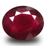 1.12 ct  Terrific Oval Shape (7 x 6 mm) Red Sapphire Natural Gemstone