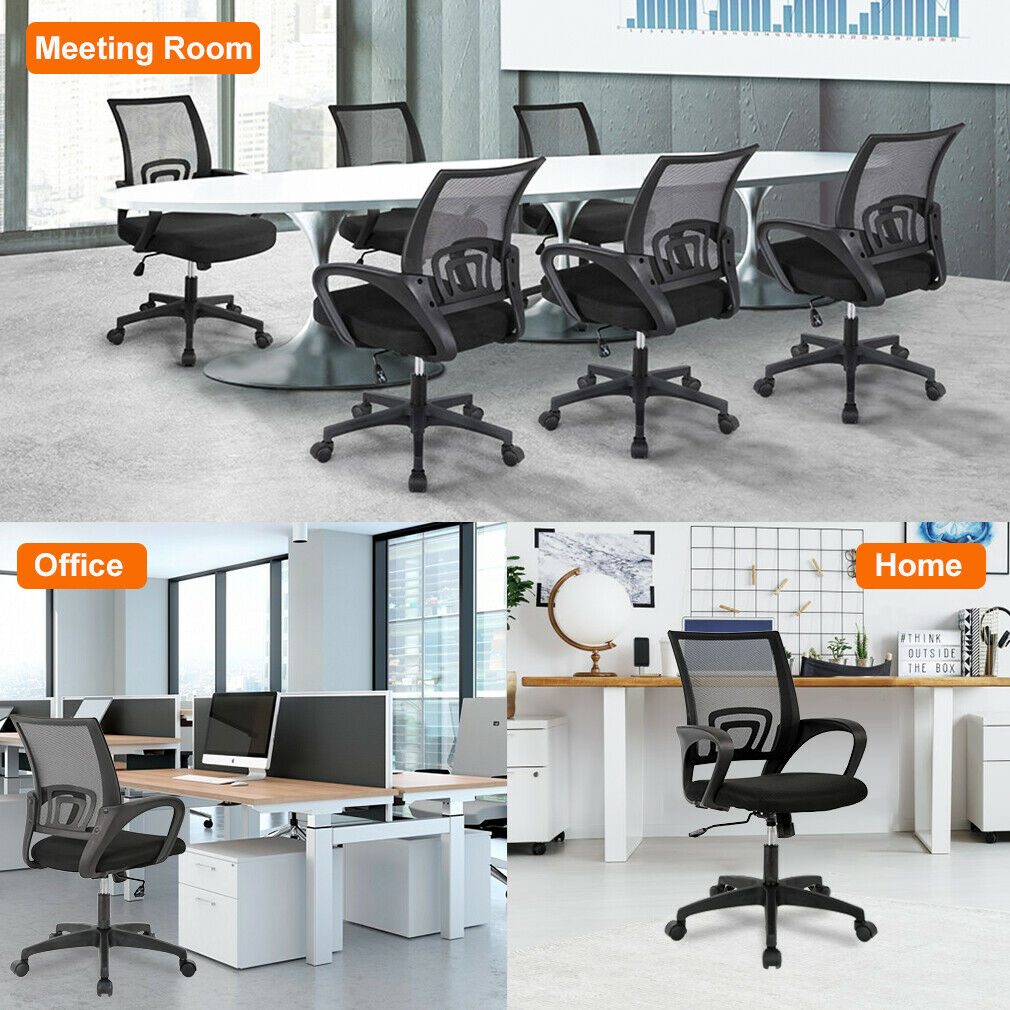 Home Office Chair Ergonomic Desk Chair Mesh Computer Chair with Lumbar Support Business & Industrial