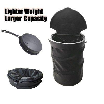 Foldable Car Dust Bin Storage Litter Bag Trash Can Container Garbage Bag  BinDA