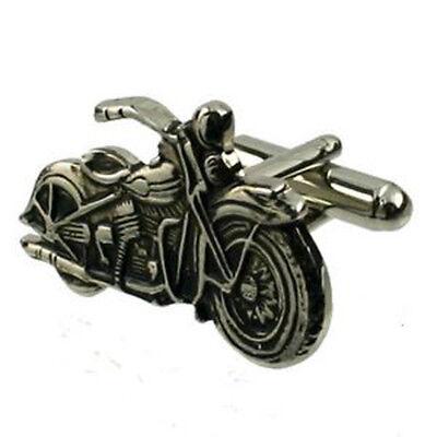 Harley Davidson Motorrad Manschettenknöpfe Select Geschenk Beutel
