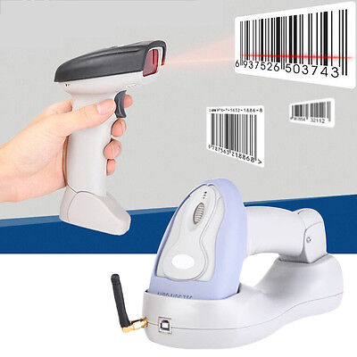 Wireless Laser Usb Barcode Scanner Scan Gun Label Reader Pos Bluetooth New