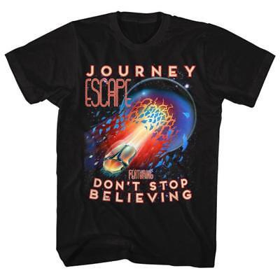 Journey Escape Dont Stop Believing Licensed Mens Classic Rock T Shirt