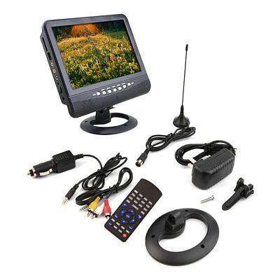 New Cheap 7 inch Portable LCD Analog TV FM MP3 USB Slot Car TV SM