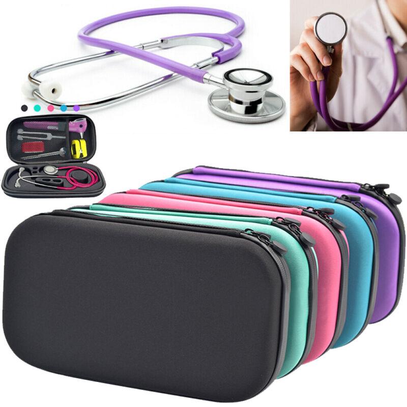 Portable Travel Medical Organizer Stethoscope Hard Storage Box Case Bag Eva