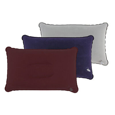 (Fold Outdoor Travel Sleep Pillow Air Inflatable Cushion Portable Break Rest~US)