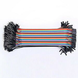 40 Pcs Dupont Jumper Wire M-M / M-F / F-F Cable Pi Pic Breadboard For Arduino RT