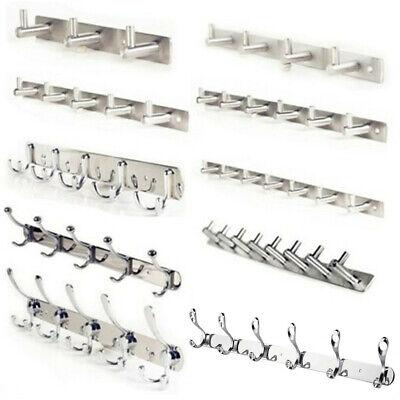 3x Clothes Wall Hook Coat Hat Rack Towel Hanger Anchor Key Holder 3 patterns