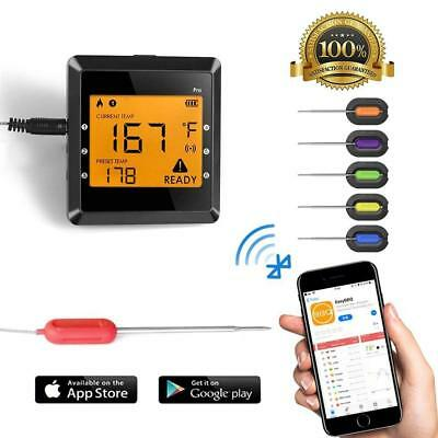 Digital Meat thermometer for Grilling , ICOCO Best Instant Read Oven Meat