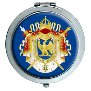 French-Imperial-Crest-Compact-Mirror