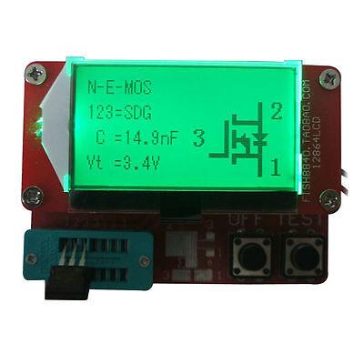 12864 Lcd Transistor Tester Capacitance Inductance Esr Meter Diode Triode Mos