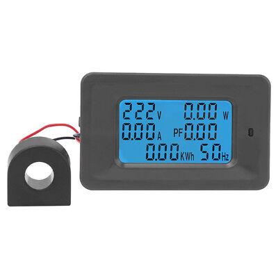 Ac 110-250v Ammeter Voltmete R220v 100a Digital Lcd Meter Monitor Power Energy