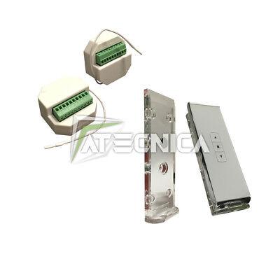 Kit automazione tapparelle e tende centrale MX3 + telecomando MURANO 1 Atecnica usato  Casale d'Ercole