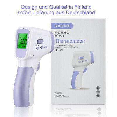 Suomida Finnland Infrarot-fieberthermometer Kontaktloser Stirnthermometer