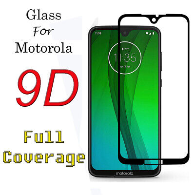 For Motorola Moto E5 G6 Play G7 Power Plus Tempered Glasess Screen Protector