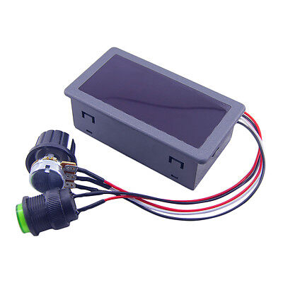 DC6-30V 12V 24V Max 8A Motor PWM Speed Controller With Digital Display Switch JY