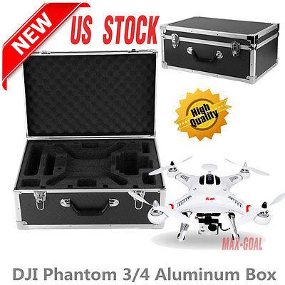 DJI Phantom 3 4 Professional/Advanced/Standard RC Drone Hard Box Carrying Case @