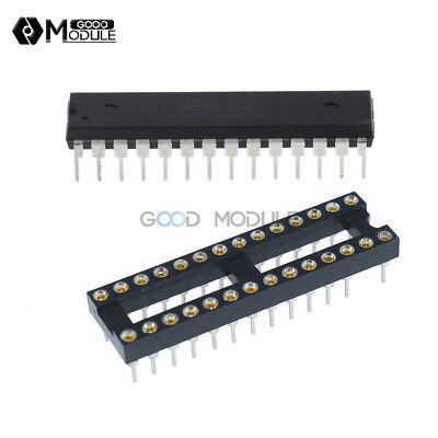 28pin Narrow Socket Atmega328p-pu Atmega328p Dip28 Ic Microcontroller Bootloader