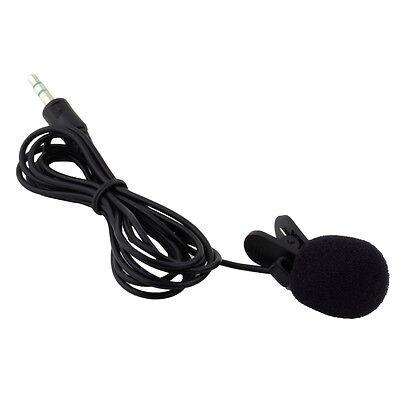 FC Portable Mini 3.5mm Tie Lapel Lavalier Clip Microphone for Lectures Teaching