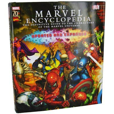 MARVEL ENCYCLOPEDIA BOOK 70TH ANNIVERSARY EDITION Inc Spiderman Hulk Iron Man +