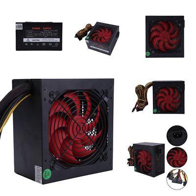 850 Watt Power ATX Computer PC Netzteil 14cm Lüfter leise SATA 700 800 900 neu U