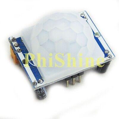 Hc-sr501 Human Body Infrared Sensor Module Ir Pyroelectric Infrared Pir Detector