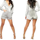 Silver Catsuit for Women