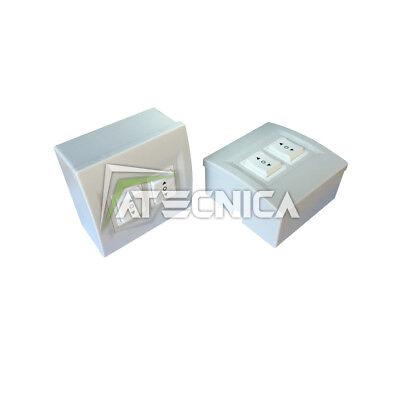 Doble Botón Interruptor Motores Persianas Eléctricas Atecnica MP2