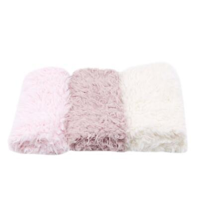 Baby Photo Props Soft Fur Quilt Photographic Mat DIY Newborn Photography SS3 - Diy Photography Props