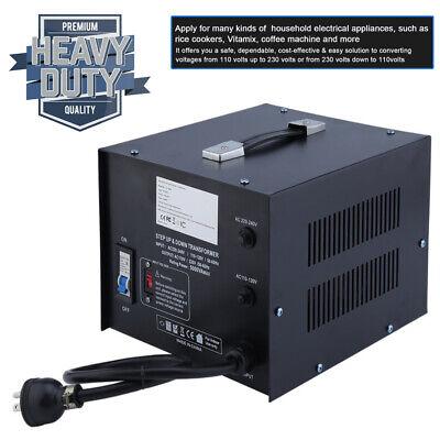 5000 Watt Voltage Converter Power Transformer 220230v To 110v Step Up And Down