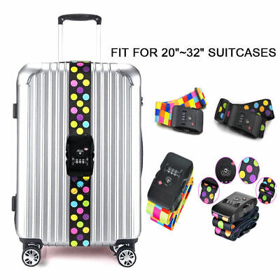 Kofferband Gepäckgurte TSA-zertifizierter Kofferband mit Zahlenschloss Fur Koffe (Tsa Gepäckgurt)