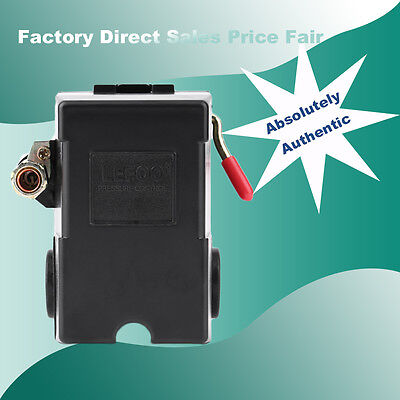 Air Compressor Pressure Switch Control Valve 105-135psi Single Portus Stock Sw