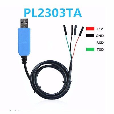 Pl2303ta Usb To Com Ttl Rs232 Download Cable Nine Brush Line Vista Win 8 10