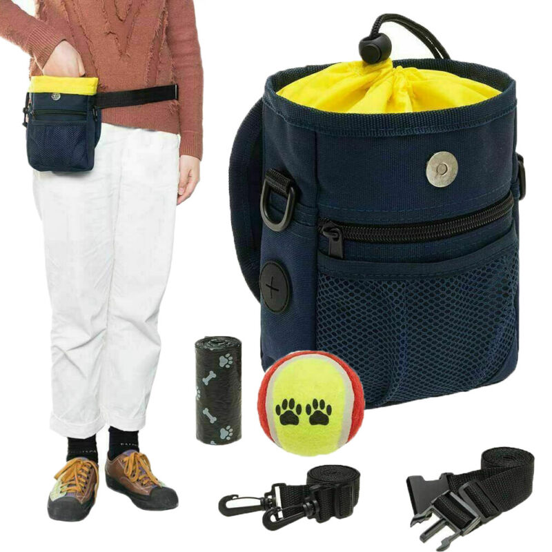 Pet Dog Puppy Training Obedience Treat Bag Feed Bait Snack Pouch Belt Bag