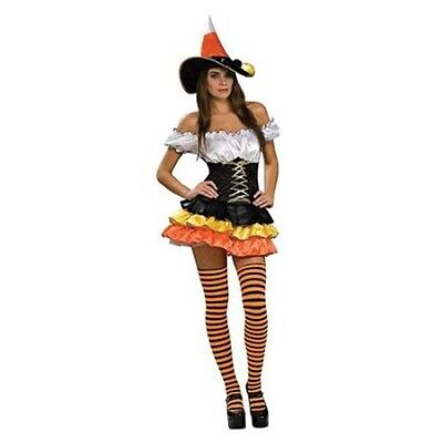Rubies Costume's Women's NLP Candy Corn Cutie Item 888893 Sexy Witch Outfit](Candy Costume For Women)