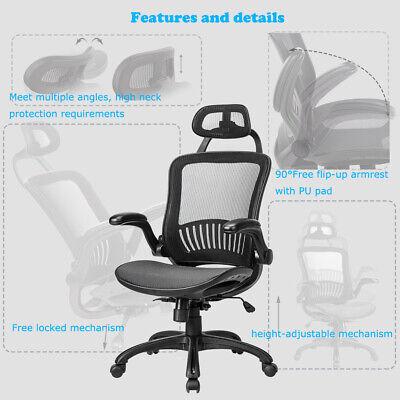 Ergonomic Office Chair High Back Swivel Mesh Chair Computer Desk Task 9061 Business & Industrial