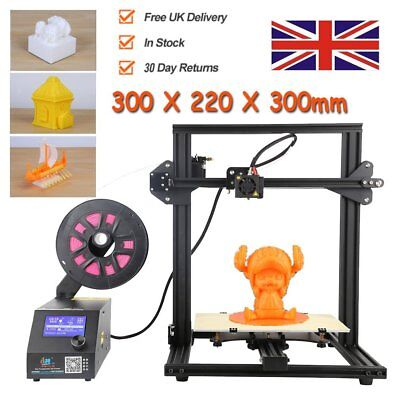 Creality CR-10 Mini 3D Printer with one Z-axis Motor &Filament 300 x 220 x 300mm